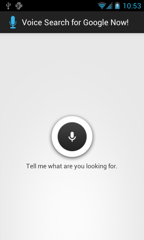 Voice Search Assistant